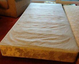 Single divan bed bases