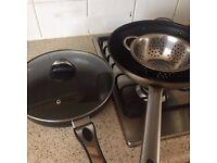 Stir frying & Frying pans