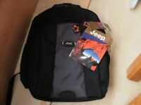 """New """"JEEP"""" Schoolbag / Backpack"""