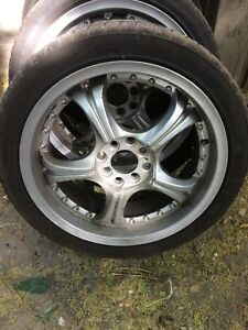 "17"" rims and tires off of Honda Accord"