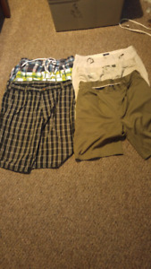 Mens shorts lot waist size 36