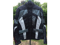 Very well maintained, as new, Ducchinni Vortex high-tech motorbike jacket for sale