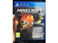 Minecraft PS4 *like new*
