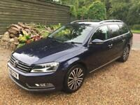 2011 61 VW PASSAT 2.0 TDI BLUEMOTION DIESEL SPORT DSG AUTO PADDLE SHIFT ESTATE