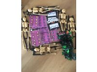 Halloween job lot ideal for parties/car boot ladies costume added size 12-14