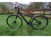 Ex hire Ridgeback Hybrid mountain bike. All sizes available
