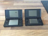 DS and DSI with games