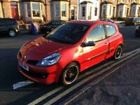 Low Mileage Clio Dynamique 1.2tce with high spec inc Leather