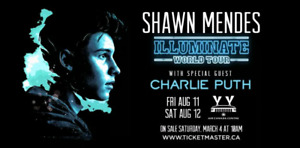 Shawn mendes tickets