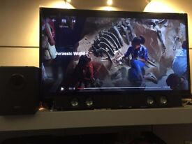 New Bush 49 inch FHD Smart TV with Freeview Play with amazing surround sound extra...I bou