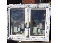 Double glazed A grade window UPVC - Brand New