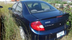 2002 Chrysler Neon LE Sedan - Quesnel