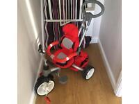 Red toddler trike