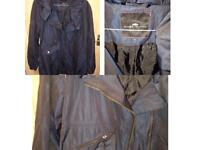 River Island Ladies Navy Jacket Size 8 RRP £89.99