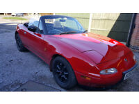 Mazda eunos 1.6 one of the cleanest around No rust at all.