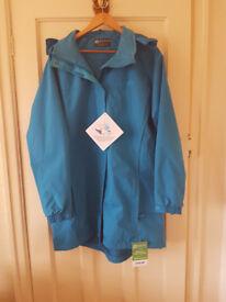 Ladies waterproof jacket.