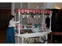Candy Cart - Great feature for weddings, birthdays, christenings or in a shop - £175 ONO