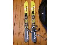 Fischer Snow Blades (skis) with bag