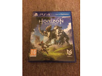 PS4 HORIZON ZERO DAWN - LIKE BRAND NEW CONDITION