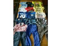 Boys bundle of clothes age 18-24 months