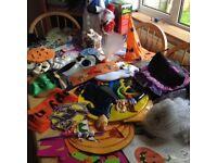 Halloween, Christmas Decorations