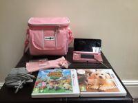 Nintendo 3ds in pink