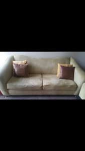 Lime Green Couch Set
