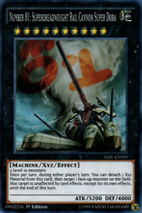 Yugioh Number 81: Superdreadnought Rail Cannon Super yu gi oh