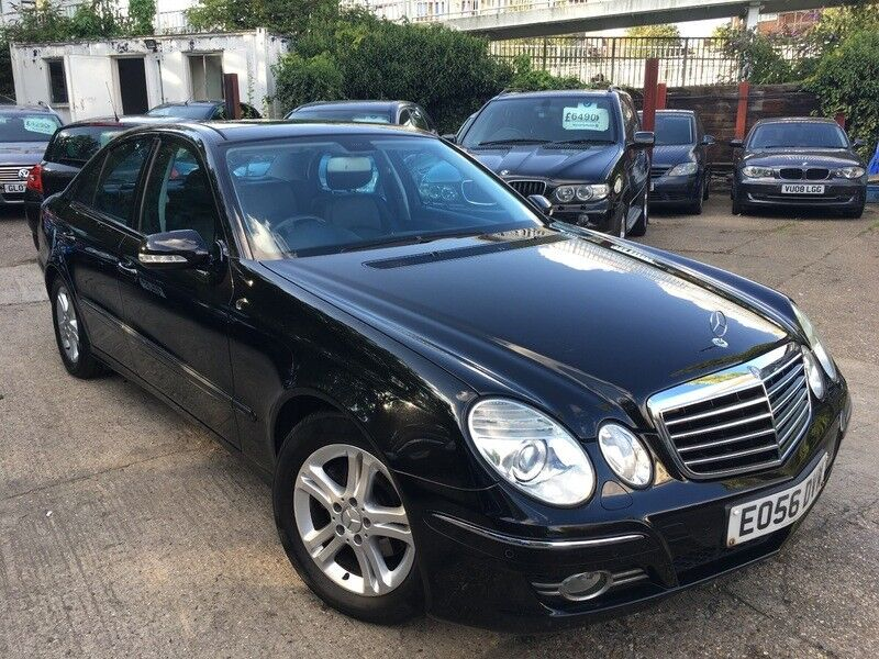 mercedes e class e 220 cdi avantgarde black 2006 in wembley london gumtree. Black Bedroom Furniture Sets. Home Design Ideas