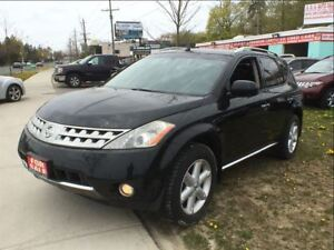 2006 Nissan Murano SE AWD LTHR/ROOF 2 SETS OF TIRES