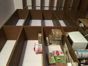 Free Standing PlyWood,  shelfing / Book Cases. Different Sizes