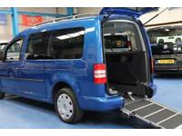 Vw Caddy Auto Wheelchair car Automatic mobility accessible vehicle disabled van