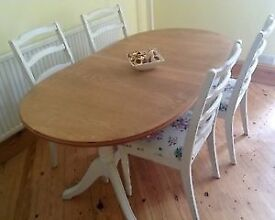 Dining table and chair free only till 6pm collection only
