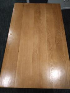 Coffee table - oak