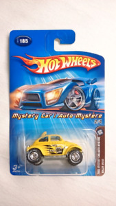 HOT WHEELS VW BAJA BUG WITH REAL RIDERS 2005 MYSTERY CAR DIECAST