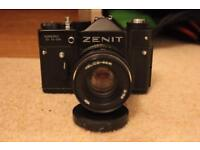 Zenit TTL + Lens + Leather Case + Handbook