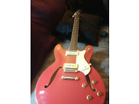 Hagstrom Viking IIP 335 style excellent condition.