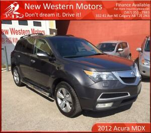 2012 Acura MDX Technology Package BCAM/NAV/DVD/SUNROOF/LEATHER