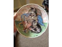 Lovely kitten plate