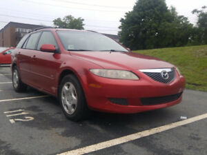 2004 Mazda Mazda6 Wagon, VALID MVI SMOKE FREE NICE AND TIGHT