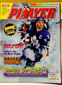 BE A PLAYER magazine ... PREMIER EDITION with DOUG GILMOUR cover