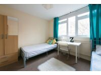 Twin Room for 2 Friends in MAIDA VALE ** International Flatshare ** Move in TODAY!
