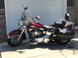 2014 HD Heritage Softail Classic Was $17500,Wholesale Now