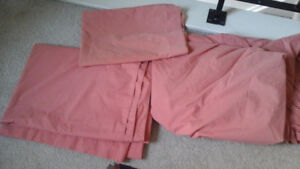 Ex long twin 3 piece bed set