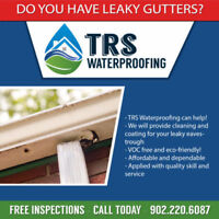 TRS Waterproofing - Eavestrough Cleaning and Coating