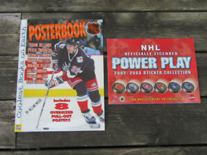 NHL Sticker Album and Poster Book