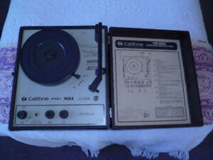 Califone 1430K Portable Phonograph REDUCED FROM $125 TO $95