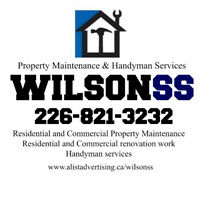 general household handyman services