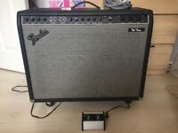 Fender The Twin 100W Reverb Valve Amplifier.