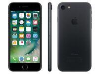 iPhone 7 128gb Unlocked black swap 7 plus and cash